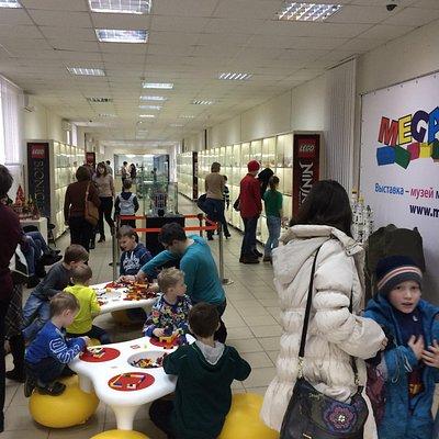 Выставка-музей моделей из кубиков Лего