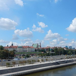 Nice view from Vistula bridge.