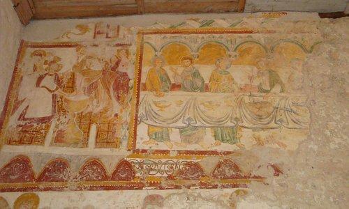 Peinture murale du XIIe