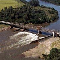 Ponte do Fandango, Cachoeira do Sul, RS, Brasil.