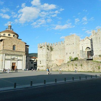 Piazza delle Carceri a Prato
