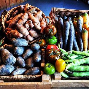 Excellent fresh produce.