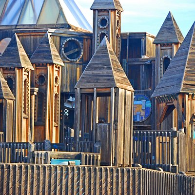 Come play in a three story castle or sail the huge pirate ship at Adventure Quest!