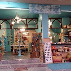 exterior view of big shop