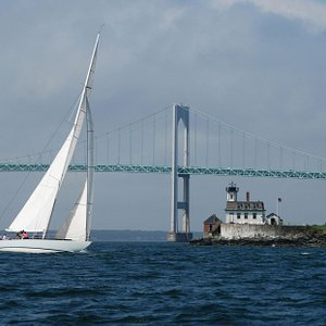 Sailing in Newport, RI. Photo by Duncan Todd.