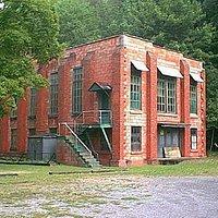old silk mill building, Lonaconing, MD