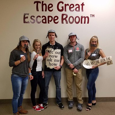 The Great Escape...We were not permitted to take pictures inside rooms.