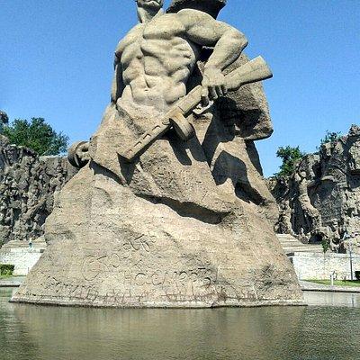 Скульптура Стоять насмерть!