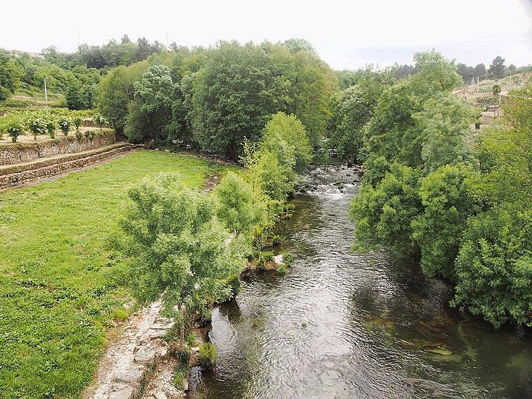 la rivière vue du pont Romain