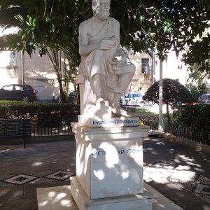 Άγαλμα Κλεόβουλου, Ρόδος