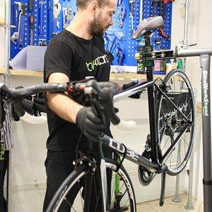Maintenance trainer Ryan