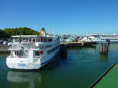 Saltholmen, départ des ferries pour l'archipel du Sud