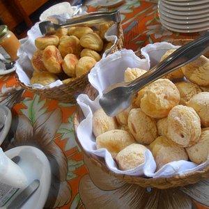 Pão de Batata e Pão de Queijo deliciosos.