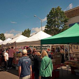 Market on the street
