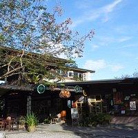 這是一家結合在地食材、資源的特色風味咖啡館