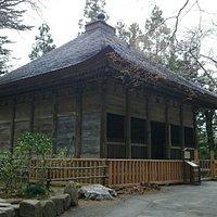 中尊寺金色堂旧覆堂