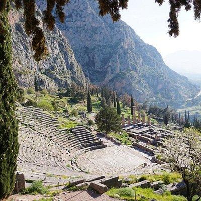 Delphi Ancient Theater