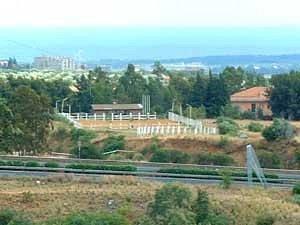 Panoramica del Centro Ippico Amico del Cavallo