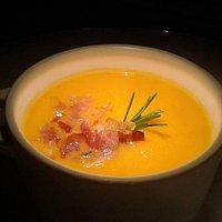 Zuppetta di carote e zenzero