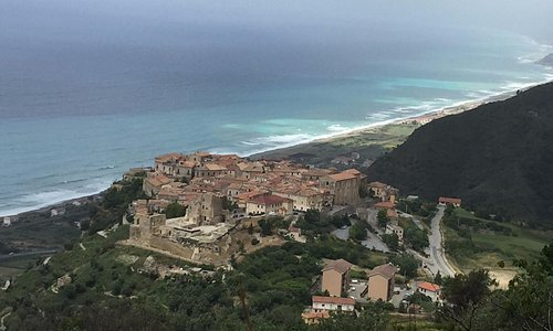 The town of Fiumofreddo, in Calabria, southern Italy.