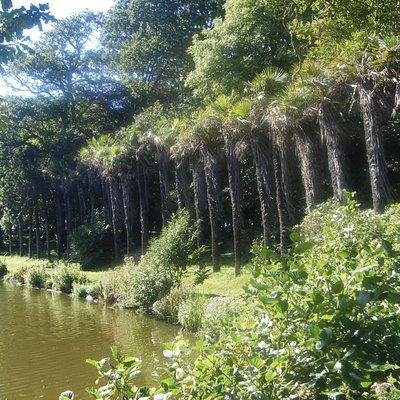 parc du château de Flamanville