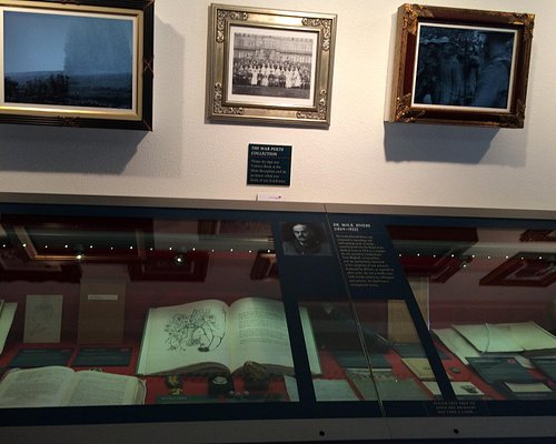 The War Poets Collection at Edinburgh Napier University Craiglockart.
