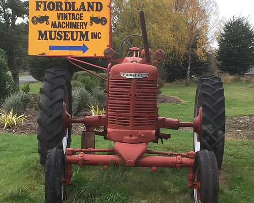 Fiordlands Vintage machinery museum
