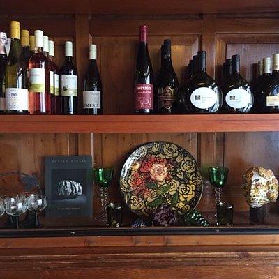 Fränkische und Internationale Weinauswahl