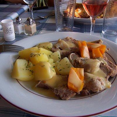 Spécialité culinaire de la Foire de Louhans : la tête de veau