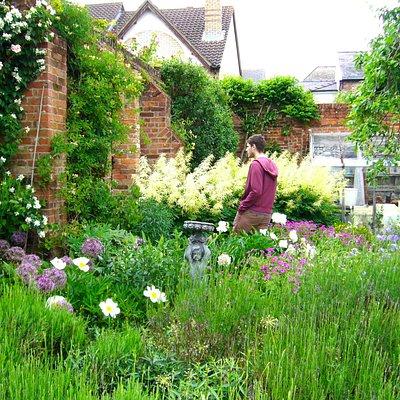 One of the Hidden Gardens in Bury St Edmunds