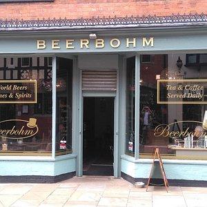 Beerbohm on Tamworth Street in Lichfield