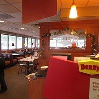 Denny's in Hanover, MD - inside dining room