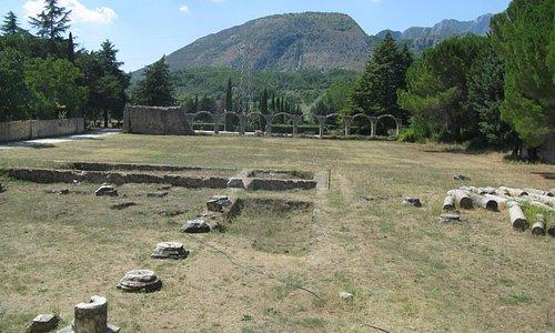 Area archeologica antistante la chiesa di S. Vincenzo