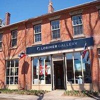 Exterior of Lorimer Gallery