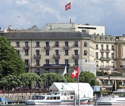 Sotheby's Geneva offices in the Hotel Beau-Rivage