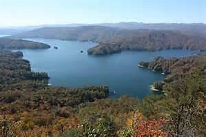 Beautiful Lake Jocassee