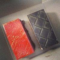 Delicous cake at Chez Francois