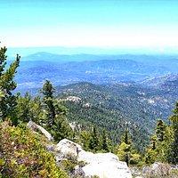Fantastic view from Tahquitz Peak