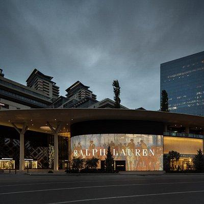 Luxury shopping venue in Baku
