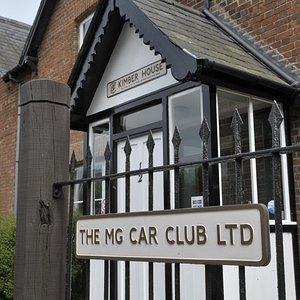 The MG Car Club's home - Kimber House