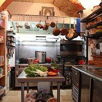 Notre cuisine, petite mais tres fonctionelle