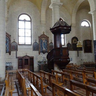 Eglise Saint-Martin de Pauillac, kansel