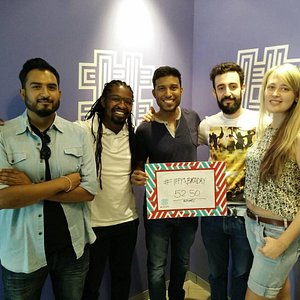Our escape team! We missed the record by 7 minutes