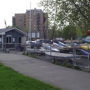 Ahoy Rentals, located on the water for all your paddling and sailing needs