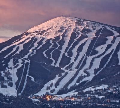 Sugarloaf Mountain at sunrise.