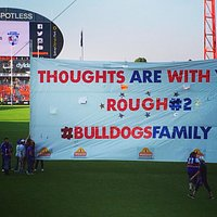 Competitor team (Western Bulldogs) banner