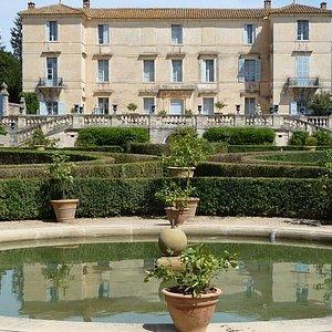 Façade du château Blog Sillage d'Anne