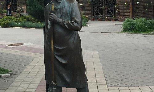 """Скульптурная композиция """"Дворник"""""""