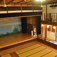 乙女座/1階は畳敷きです。入館料200円