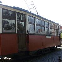 Памятник Блокадному трамваю.